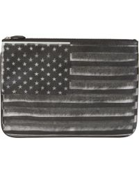 Givenchy - Black Zipped Wallet - Lyst