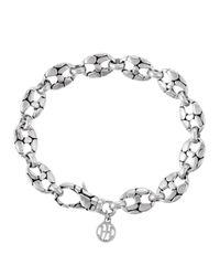 John Hardy | Metallic Small Oval-link Bracelet | Lyst