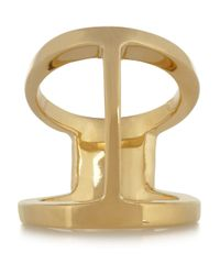 Maiyet - Metallic Butterfly Goldplated Ring - Lyst