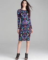 Nicole Miller Artelier   Multicolor Jersey Dress Aurora   Lyst