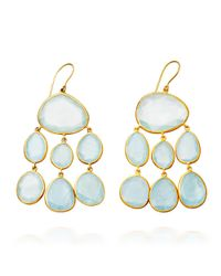 Pippa Small | Blue Aqua Baby Jellyfish Earrings | Lyst