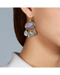 Pippa Small | Yellow Labradorite Urchin Earrings | Lyst