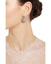 Simon Teakle - Metallic 3 in 1 Georgian Paste Earrings - Lyst