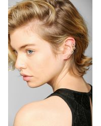 Urban Outfitters - Metallic Tangled Vine Cuff Earrings - Lyst