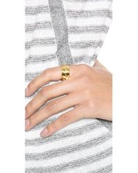 Marc By Marc Jacobs - Metallic Dot Print Ring - Lyst