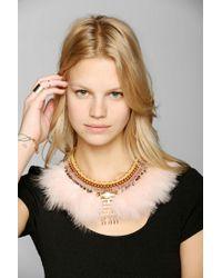 Urban Outfitters - Metallic Crazie Mazie Necklace - Lyst