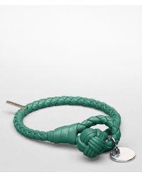Bottega Veneta - Green Menthe Intrecciato Nappa Bracelet - Lyst