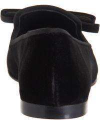Giuseppe Zanotti - Black Bow Cap Toe Loafer - Lyst