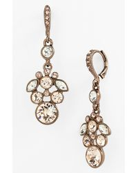 Givenchy | Natural Cluster Drop Earrings | Lyst