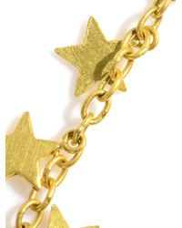 Marie-hélène De Taillac | Yellow Gold Star Earrings | Lyst