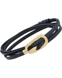 Miansai - Blue New Gamle Wrap Bracelet - Lyst