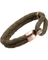 Miansai | Natural Leather Beacon Bracelet | Lyst