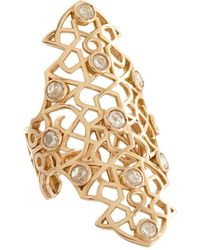 Repossi | Pink Diamond Rose Gold Maure Ring | Lyst