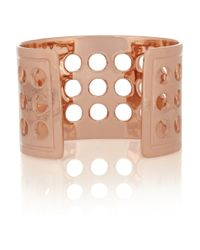 Arme De L'Amour - Pink Rose Gold-Plated Cuff - Lyst