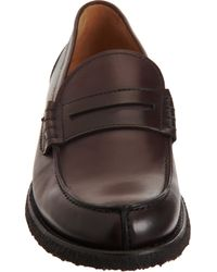 Brunello Cucinelli - Purple Penny Loafer for Men - Lyst
