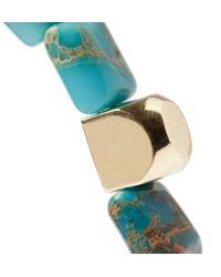 Luis Morais | Blue Gold And Jasper Bracelet for Men | Lyst