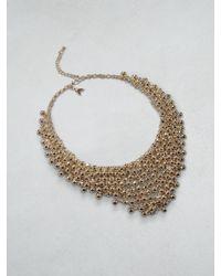 Patrizia Pepe | Metallic Junk Jewellery Necklace | Lyst