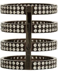 Repossi - Black Berbere 4-band Cage Ring - Lyst