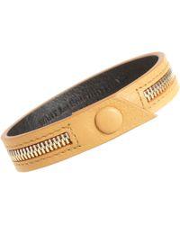 Want Les Essentiels De La Vie - Natural Tambo Zip Bracelet for Men - Lyst
