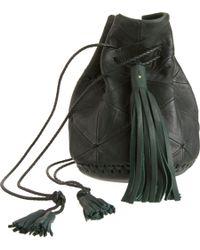 Wendy Nichol - Green Triangle Patchwork Bullet Bag - Lyst