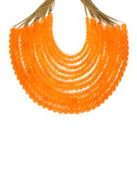 Rosantica | Orange Raissa Agate Necklace | Lyst