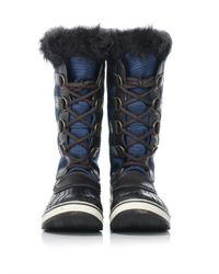 Sorel | Blue Tofino Nylon And Rubber Boots | Lyst