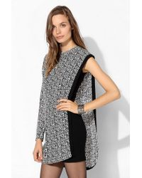Urban Outfitters | Black This Is A Love Song Ithaca Overlay Dress | Lyst