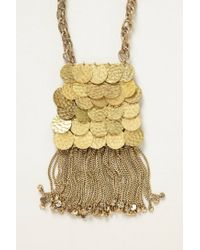 Tribune Standard - Metallic Fez Curtain Necklace - Lyst