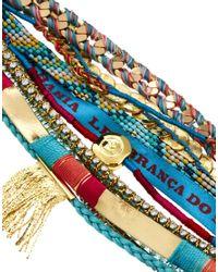 Hipanema - Blue Byzance Bracelet - Lyst