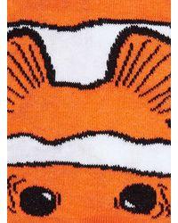 TOPMAN - Orange Clown Fish Socks for Men - Lyst