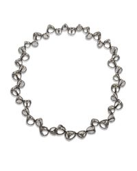 Di Modolo - Metallic Rock Quartz Cage Collar Necklace - Lyst