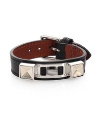 Proenza Schouler - Black Ps11 Small Leather Bracelet - Lyst