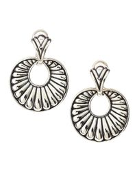 Lagos | Metallic Chichi Round Fluted Earrings | Lyst