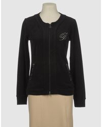 Blumarine | Black Zip Sweatshirt | Lyst