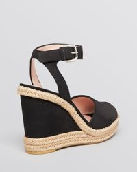 Stuart Weitzman - Brown Platform Espadrille Wedge Sandals Waycool - Lyst
