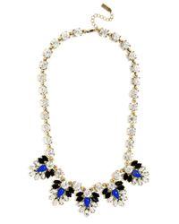 BaubleBar - Blue Crystal Fern Collar - Lyst