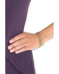 Carolina Bucci - Metallic Woven 18karat Gold Bracelet - Lyst