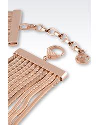 Emporio Armani - Brown Necklace - Lyst
