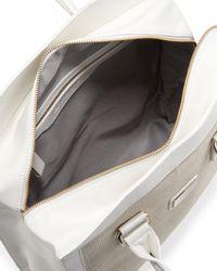Gianfranco Ferré - Wovencenter Shopper Tote Bag White - Lyst