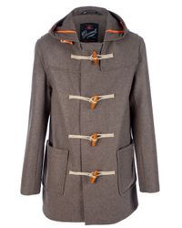 Gloverall | Brown Montgomery Coat for Men | Lyst