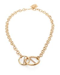 Kelly Wearstler - Metallic Regent Chain Link Pendant Necklace - Lyst