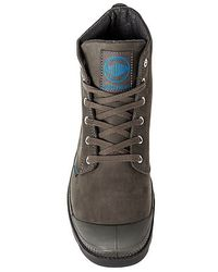 Palladium | Gray The Pampa Hi Leather Gusset Boot for Men | Lyst