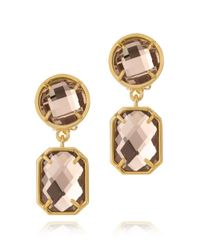 Tory Burch | Metallic Pentier Simple Earring | Lyst