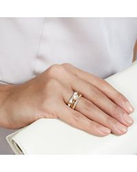 Astley Clarke - White Infinity Ring Stack - Lyst