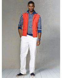 Polo Ralph Lauren - Orange Epson Lightweight Quilted Vest for Men - Lyst
