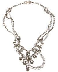 Tom Binns - Metallic Crystal Embellished Necklace - Lyst