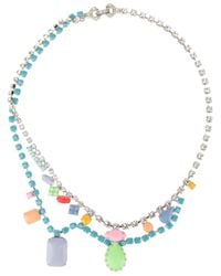 Tom Binns | Blue Calamity Chain Necklace | Lyst