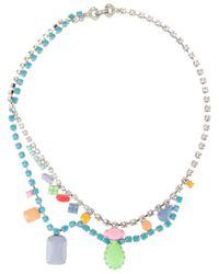 Tom Binns | Blue Stone Embellished Necklace | Lyst