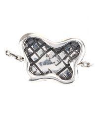 Bottega Veneta - Metallic Sterling Silver Chain Bracelet - Lyst