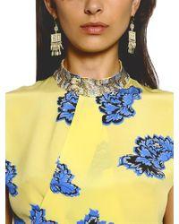Etro - Metallic Indian Ornament Earrings - Lyst
